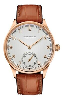 Tourby Art Deco II (rose gold plated) Swiss Made ETA Unitas 6498-1