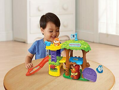 New VTech Toot-Toot Animals PET PLAYGROUND Playset Fun Interactive Learning Toy