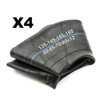 4 Trailer 12'' Wheel Tyre Innertube 135x12 145x12 155x12 165x12 60/65/70/80 Tube