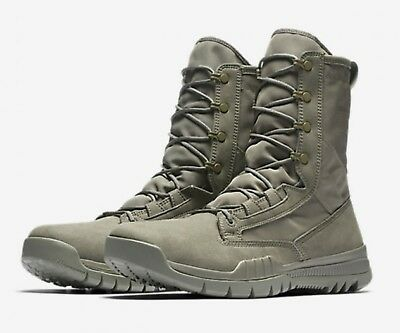 "Ds Mens Nike Sfb Field 8"" Special Forces Military Boots 631371 222 Sz 11 Free"