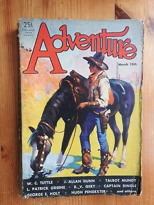 Adventure US pulp magazine - 15th March 1932 (Vol LXXXII No 1)
