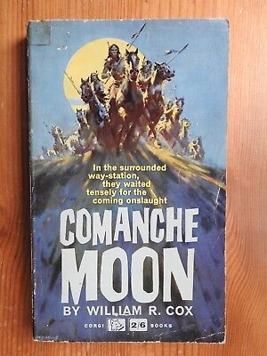 Comanche Moon - William R Cox vintage Corgi western PB (1962)