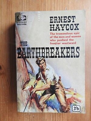 The Earthbreakers - Ernest Haycox  vintage Corgi western PB (1960)