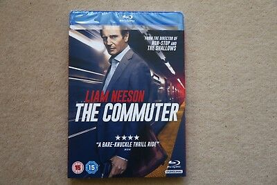 Blu-Ray The Commuter           Brand New Sealed Genuine Uk Stock