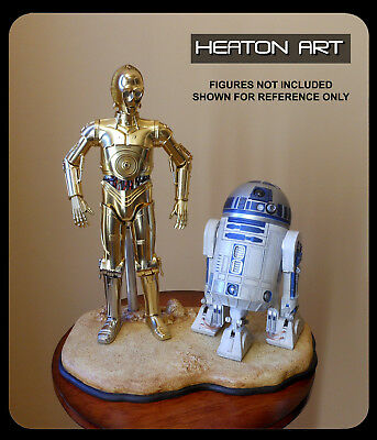 Desert Display Stand for 1/6 Sideshow Hot Toys Star Wars Luke C-3PO R2-D2 Jawas