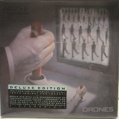 Muse - Drohnen (2 Disc, CD+DVD, Deluxe-Edition) Brandneu