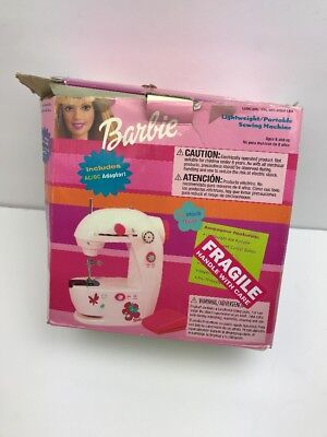 SEWING GENIE MINI Portable Sewing Machine With Original Box Magnificent Barbie Sewing Machine Instructions