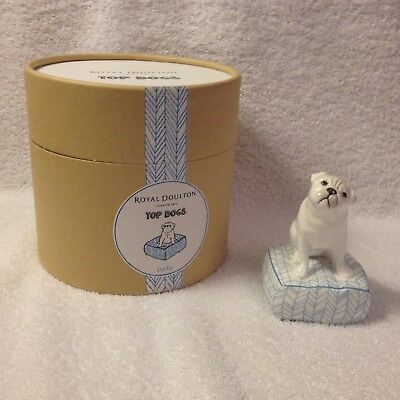 Royal Doulton Top Dogs LUCKY PUG DOG NEW IN CANISTER Box 701587255455