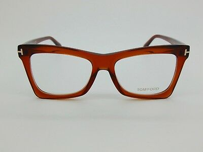 bf43c4363e82 NEW AUTHENTIC TOM FORD TF 5457 044 Brown 52mm Rx Eyeglasses ...