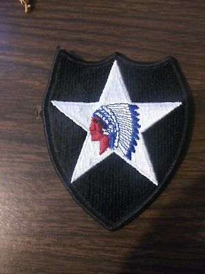 "US Army 2nd Infantry Division ""Indianhead"" Patch"