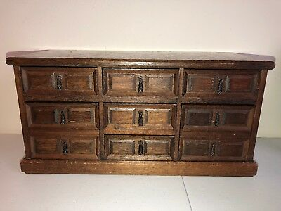 Vintage Wood Jewelry Box (Japan) MELE
