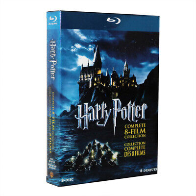Harry Potter Complete 1-8 Movie DVD Collection Film Box Set Xmas Gift 2018 -HOT