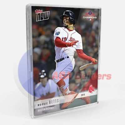 2018 Topps Now Boston Red Sox World Series Collector 20 Card Set Betts Sale PS