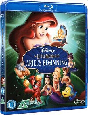 The Little Mermaid 3: Ariel's Beginning [Blu-Ray] New and factory sealed