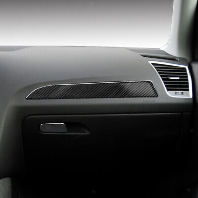 Interior Parts & Furnishings Vehicle Parts & Accessories Interior Carbon Fiber Console Air Vent Outlet Cover Trim For Audi A4 B8 A5 Q5