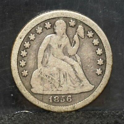 1856-O Liberty Seated Dime - VG (#17507)