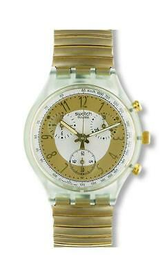 Swatch+Chrono+Scg100 Golden Globe+Neu/new