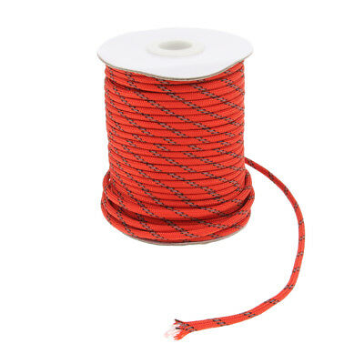Outdoor Reflective Guyline Tent Rope Guy Line Cord Camping Tarp Shelter 30m