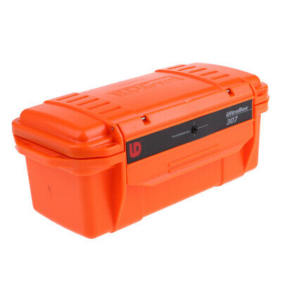 Outdoor Waterproof Shockproof Dry Box Camping Survival Container Case Orange
