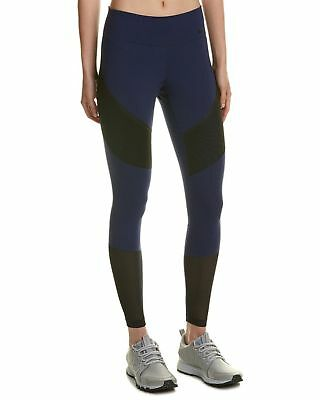 f2c028f246391d NIKE WOMENS POWER Colorblock Compression Athletic Leggings Navy XS ...