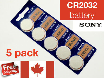 CR2032 Sony Watch Lithium Battery 2032 Coin Button Cell