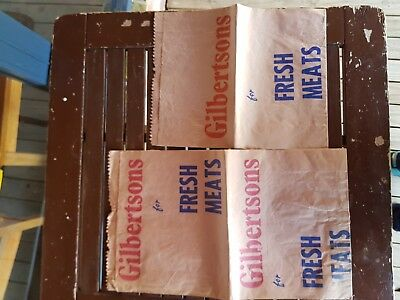 Good Old Fashioned Butchers Brown Paper Bag  2 Sizes Gilbertsons