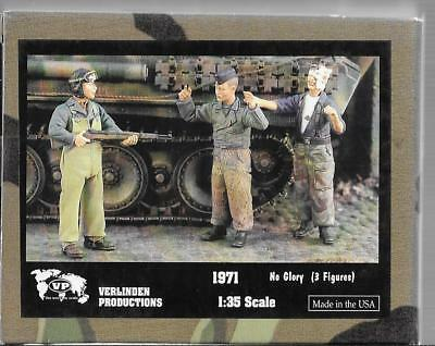 Verlinden WWII US Tanker Taking Prisoners, Injured, 3 Resin Figures 1/35 1871 ST