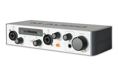 M-Audio M-Track II Two-Channel USB Audio Interface - Repack
