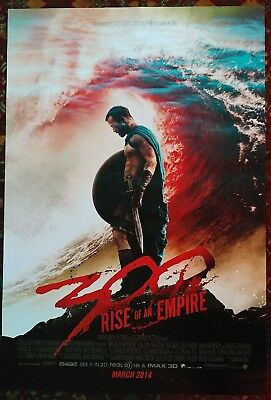 300: RISE OF AN EMPIRE Movie Poster 27x40 2-Sided Authentic Teaser Zack Snyder