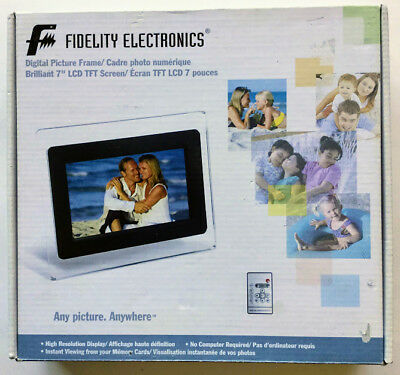 Fidelity Electronics 7 Inch digital Photo Frame