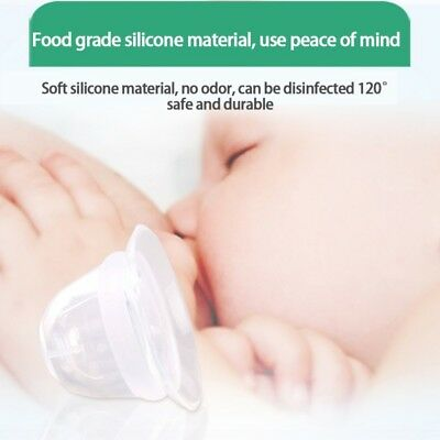 Silicone Protective Nipple Cover Correction Nipple Breast Feeding Transparent