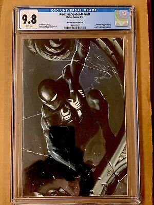Amazing Spider-Man #1 CGC 9.8 Dell'Otto Virgin Variant SDCC KRS NM 2018 LIMITED