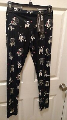 Boston Terrier, King Charles Cavalier Spaniel, and Schnauzer Leggings- One Size