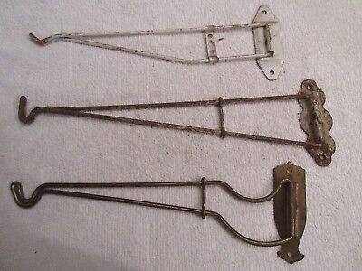 vintage antique kitchen wall hooks primitive dish towel kitchen hooks lot T5