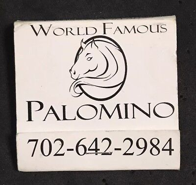 Matchbook, Worlds Famous Palomino Strip Club, Las Vegas, Nevada Full & Unstuck