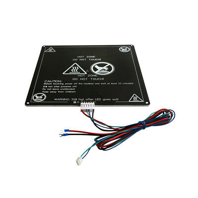 Aluminum Alloy MK3 12V Heated Bed Hotbed with Wire Cable Line for 3D Printer