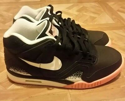 info for 6f73a f6a71 Nike Air Tech Challenge II Mens 10.5 BlackPoison Peach White