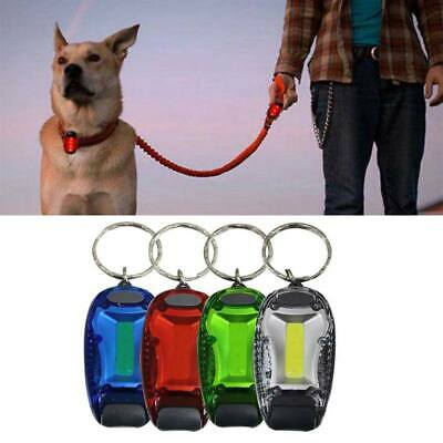 Pet Cat Dog Safety Warning LED Lamp Night COB Clip Light Flashing Collar Pendant