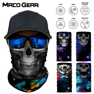 Skull Ghost Ski Cycling Snowboard Scarf Neck Warmer Face Masks Balaclava Bandana