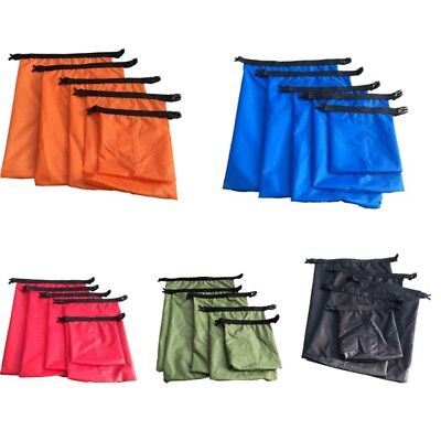 5Pcs/set Waterproof Dry Bag Canoe Floating Boating Kayaking Camping Hiking Bag