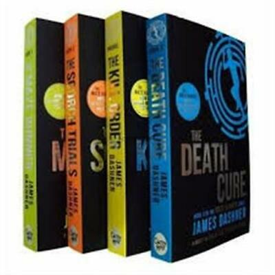 The Maze Runner 4 Book Series Books James Dashner Young Adult New