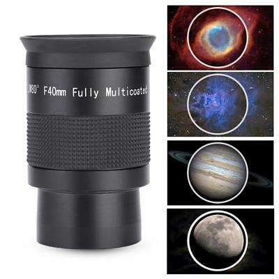2inch 80°Wide Angle Plossl Eyepiece PL40mm Fully Coated for Astronomy Telescope