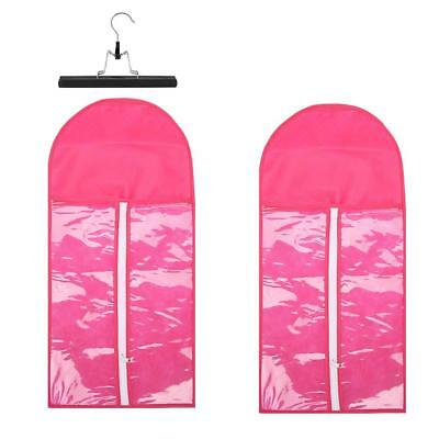 Women Hair Extensions Carrier Protector Bag Hanger Wig Stands Storage Tool