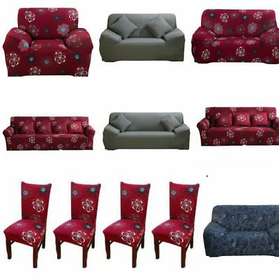 Stretch Sofa Covers 1/2/3/4 Seater Sofa Chair Cover Protector Couch Slipcover