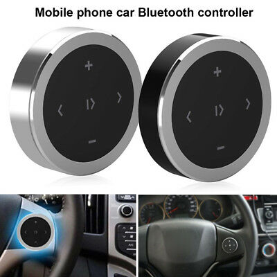 Wireless Bluetooth Car Media Button Music Player Steering Wheel Remote Control