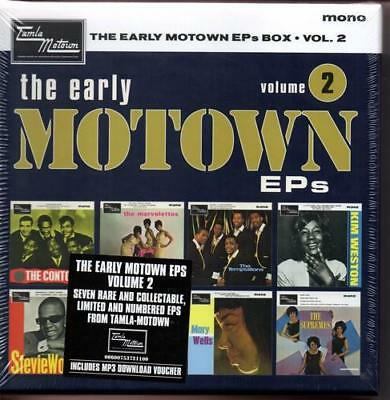 "EARLY MOTOWN EPs VOLUME 2 7X7"" BOX SET NEW & SEALED LTD ED VINYL NORTHERN SOUL"