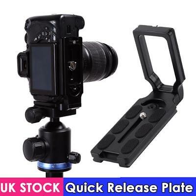 L Shape Bracket Universal Quick Release Plate For Nikon Canon Sony Pentax Camera
