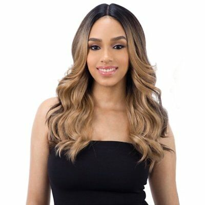 "FreeTress Equal Synthetic Hair Wig Lace 5"" Deep Part Lace VALENTINO"