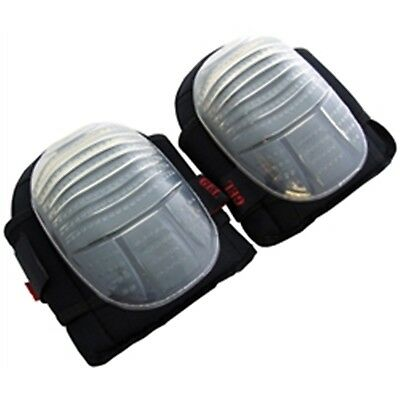 Professional Heavy Duty GEL KNEE PADS Sewn Caps Industrial Strength Cap