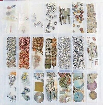 Steampunk Art Jewelry Supplies - Lot #1 - All Are NWOT